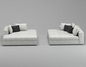 3D Minotti Hamilton Sofa