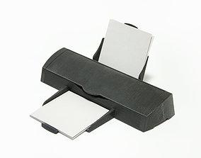 TABLE ORGANIZER - HAND PRINTER