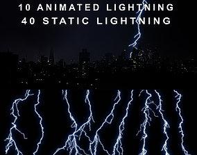 3D model Lightning PACK