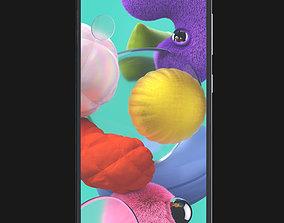 E3D - Samsung Galaxy A51 Prism Crush Black xcover