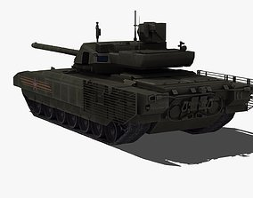 3D model ukraine T14 Tank