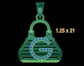 3D print model PENDANT BAG 3