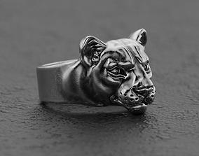 Panther ring leopard ring jaguar ring puma ring 3D print