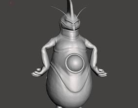 Rage Shenron 3D Model