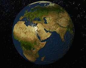 Planet Earth - 8K Textures 3D model