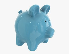 3D model Piggy money bank ceramic