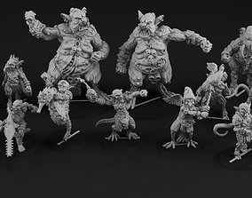 Nurgoblin complete team 3D print model