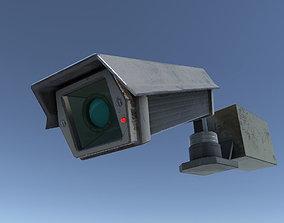 Survillance Camera System 3D asset