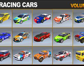 3D asset Racing Cars Pack Volume 1