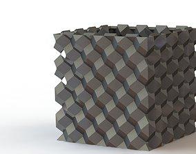 Quadra Planter 3D printable model