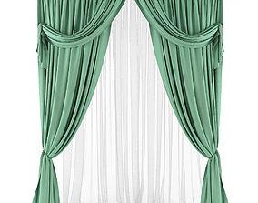 Curtain 3D model 32