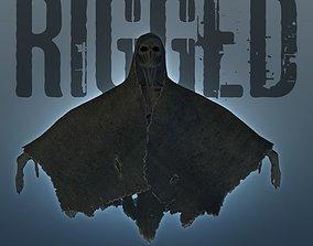 rigged Shroud Beast 3D Character