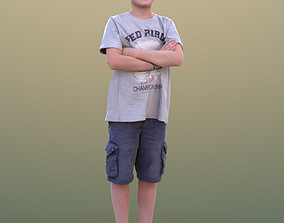 3D model Cory 10398 - Standing Casual Child