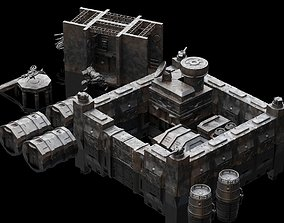 Terrain Base Building Pack 3D printable model