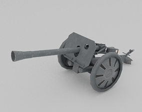 3D model Raketenwerfer 43 Puppchen anti-tank rocket