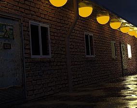 Night Time Street 3D model