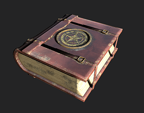 3D asset Old Magic Book