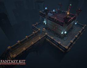 Dark Fantasy Kit 3D model