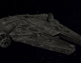 3D model STAR WARS - MILLENNIUM FALCON - 20190729