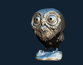 Owl 3DP Hollowed out
