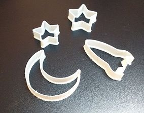 3D printable model Set of Cookie Cutters from Space