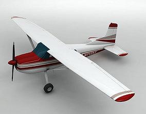 Cessna 185 Aircraft 3D asset