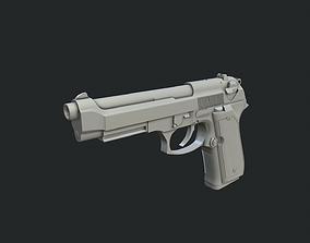 3D Beretta 92