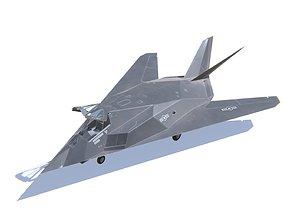 F-117 Nighthawk 3D asset VR / AR ready