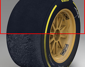 3D asset 18 inches soft rear