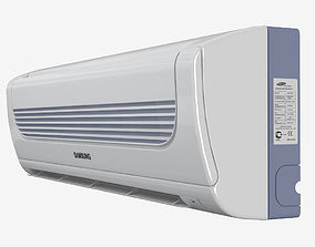 3D model Samsung household air conditioning system