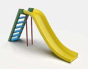 kids outdoor Slide 3D model