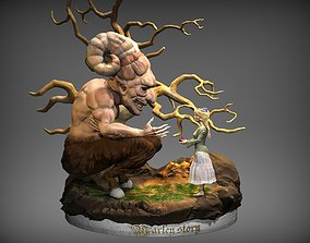 Demon of Earth 3d print