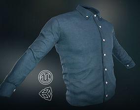 Blue Shirt 3D model