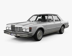 3D model Chrysler LeBaron Medallion Sedan 1978