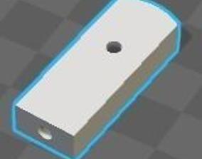 Resizable Rod End 3D print model