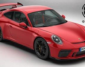 Porsche 911 GT3 2018 3D model