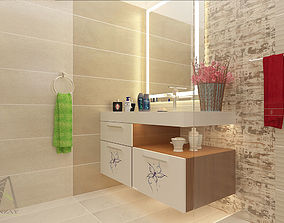3D print model Bathroom Interior Designing