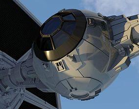 TIE Fighter Model Star Wars 3D