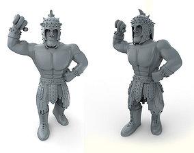 3D printable model Mexican Wrestler El Gladiator
