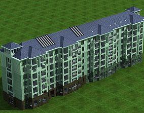 Multi Residential tree 3D model