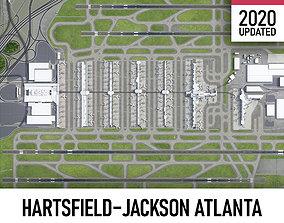 Atlanta International Airport - ATL 3D model
