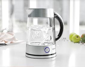 3D Transparent kettle