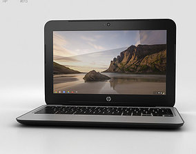 3D HP Chromebook 11 G3 Twinkle Black
