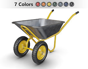 Wheelbarrow Collection 3D model