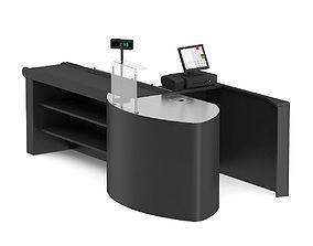 3D Cashier Desk 2