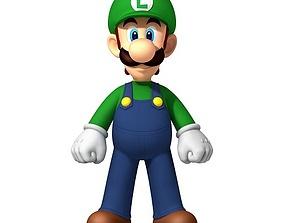 3D printable model Luigi character