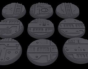 Necromunda - 32mm Bases 3D print model