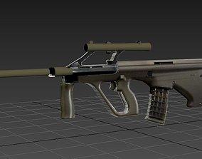 weapon Steyr AUG 3D model