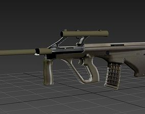 weapon Steyr AUG 3D model