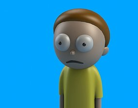 Morty from Rick and Morty 3D printable model